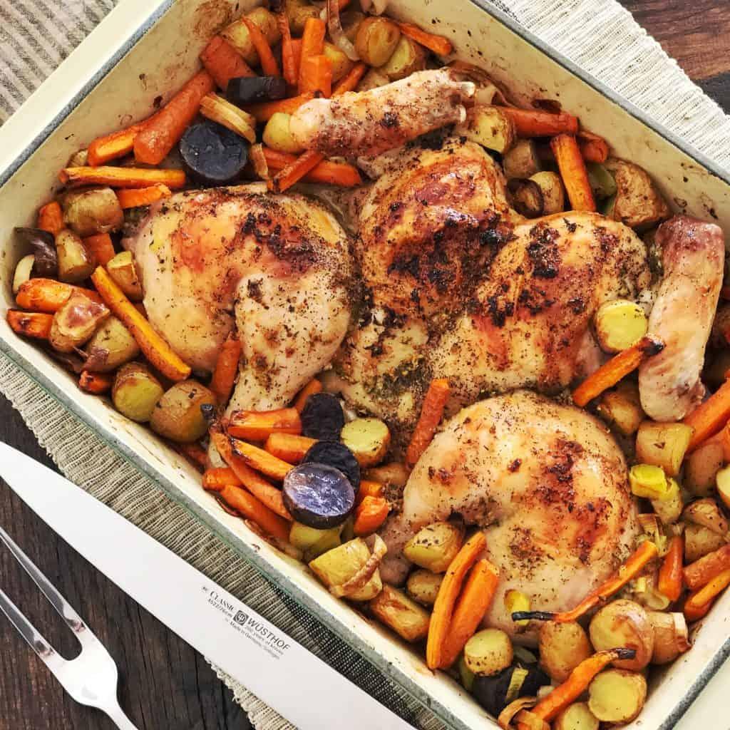Garlic-y Chicken