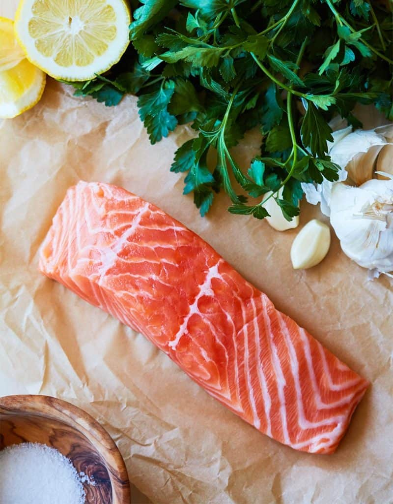 Skillet Salmon in Lemon Butter Ingredients