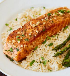 Skillet Salmon in Lemon Butter