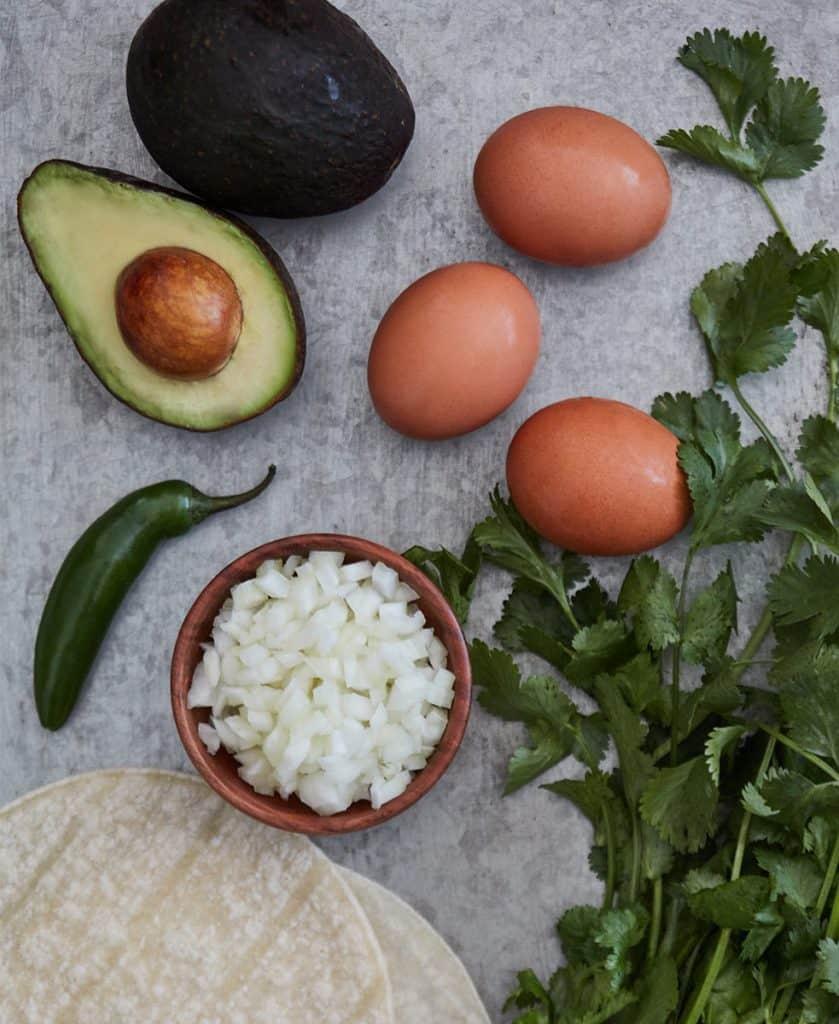 Breakfast Tacos Ingredients