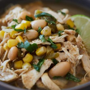 Pressure Cooker White Chicken Chili