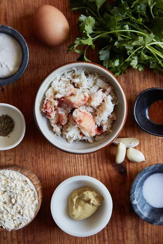 Gluten Free Crab Cakes Ingredients