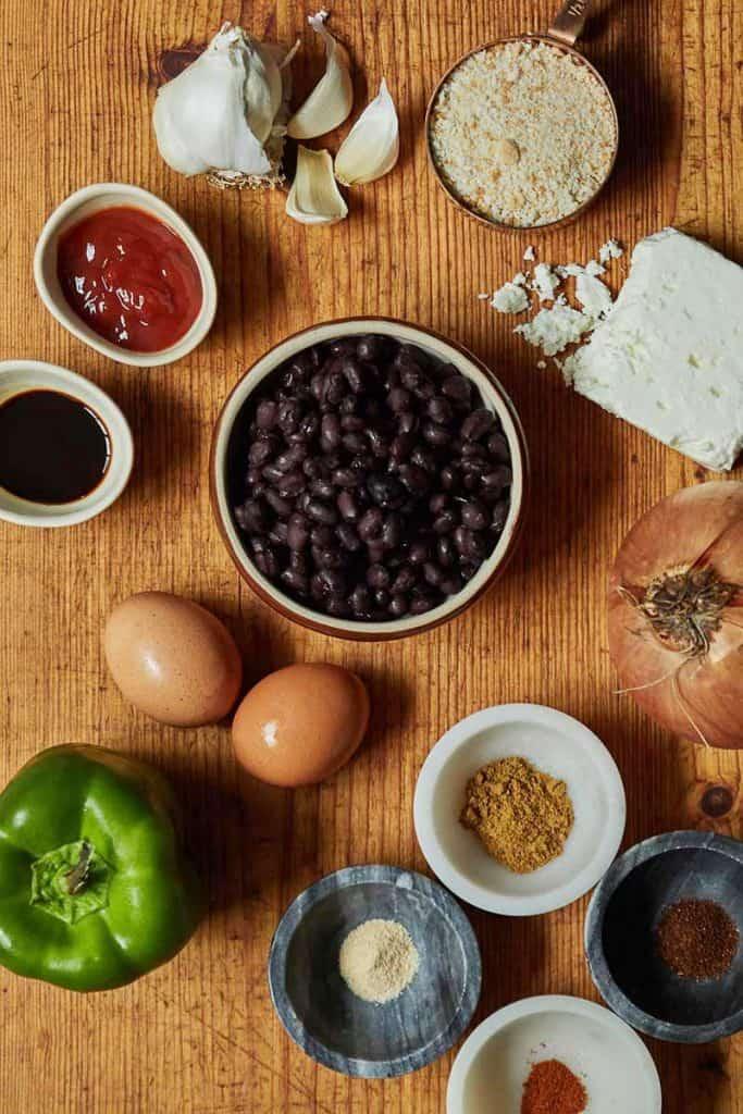 Black Bean Burger Ingredients