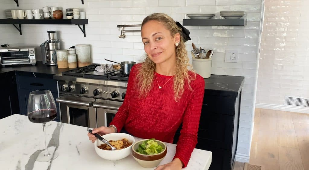 Nicole Richie's Bolognese