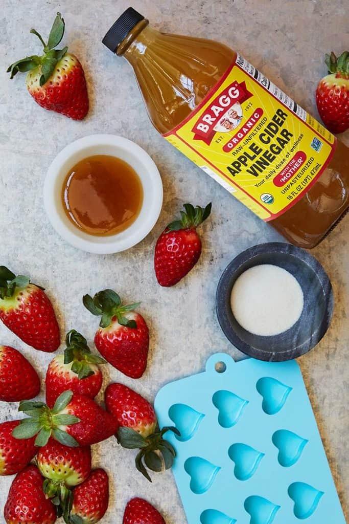 Apple Cider Vinegar Gummy Hearts Ingredients